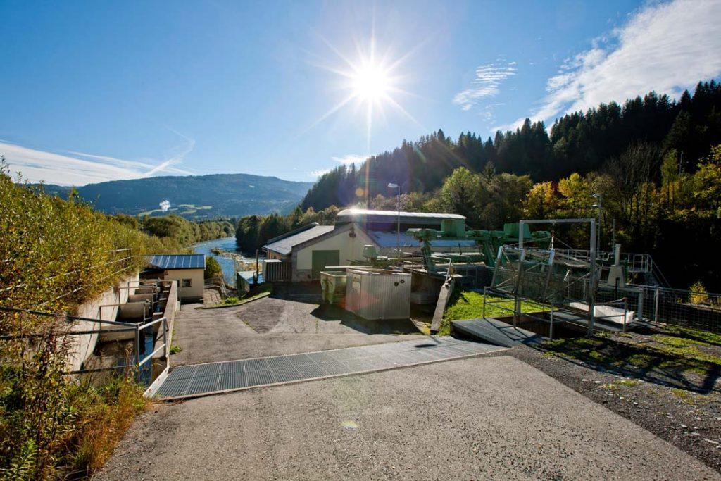Murwasserkraftwerk St. Egidi