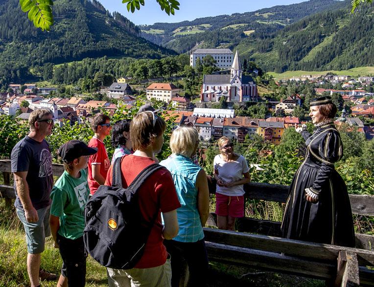 Geschichts-Tour Murau für Kinder und Schulgruppen - Anna Neumann