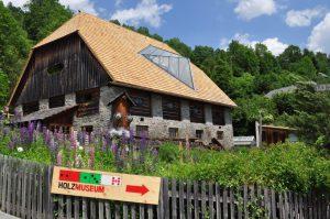 Holzmuseum Dach FR Regina Sunk