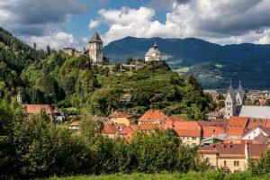 Mittelalter Stadt Friesach