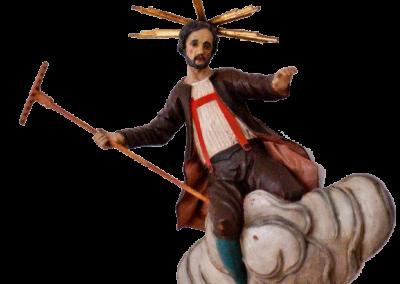 Der spanische Heilige auf der Wolke