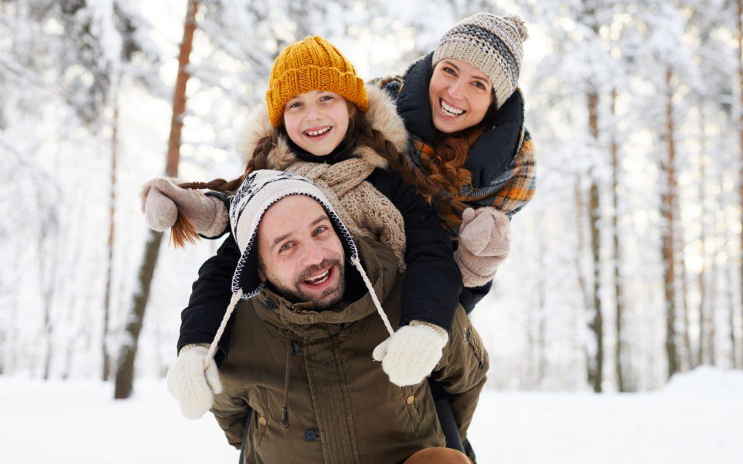 Winterwald Spaziergang Mariahof